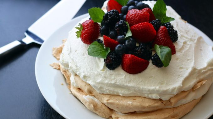 healthy desserts food