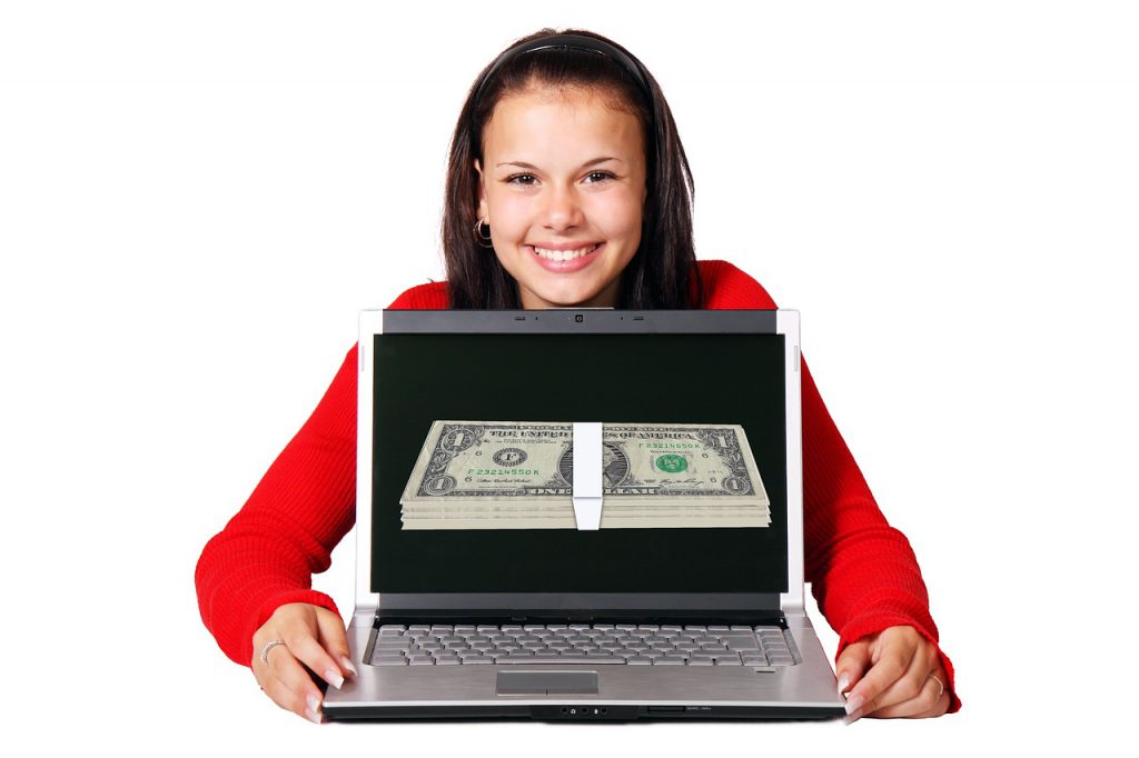 How to make money fast online?