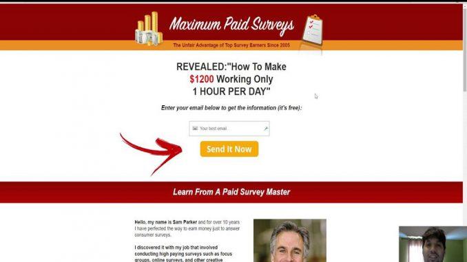 is maximum paid surveys a scam