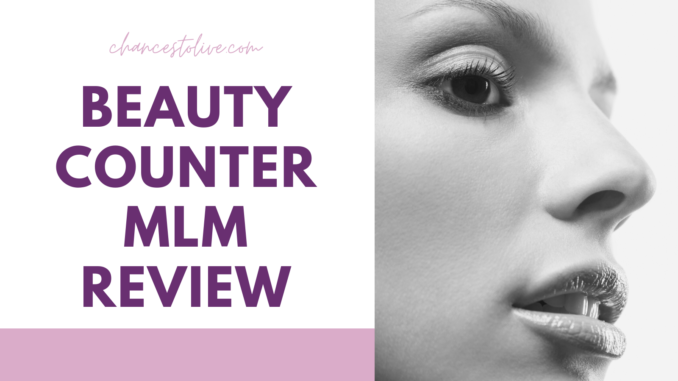 what is beauty counter mlm about