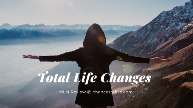 what is total life changes mlm about