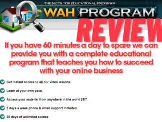 is the wah program a scam